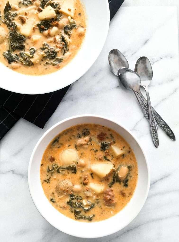 Recette Soupe toscane à la mijoteuse