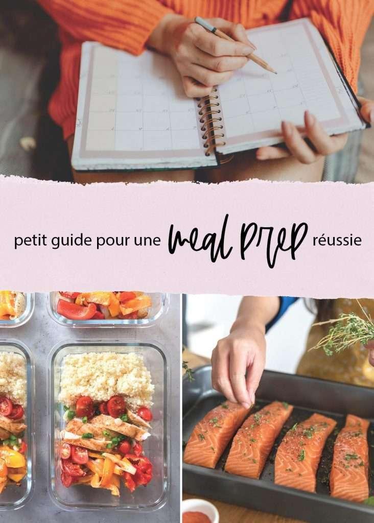 Petit guide pour une meal prep réussie