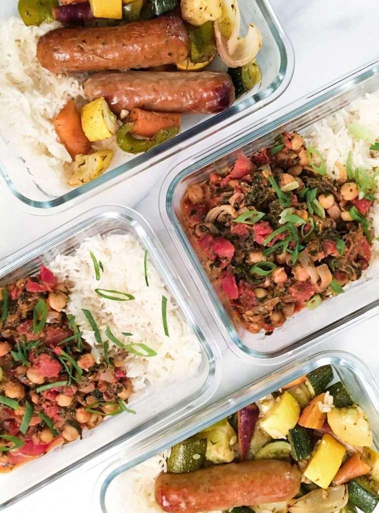 Menu meal prep : Plus de lunchs maison!