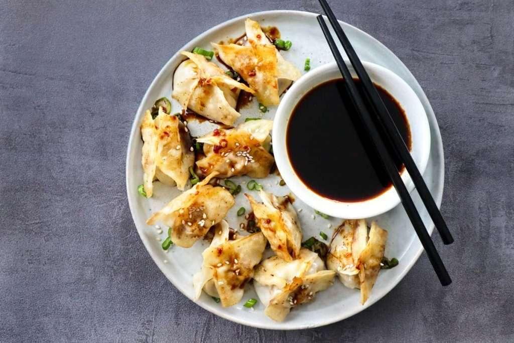 Dumplings au porc érable-gingembre