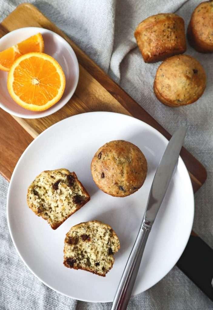 Muffins orange chocolat