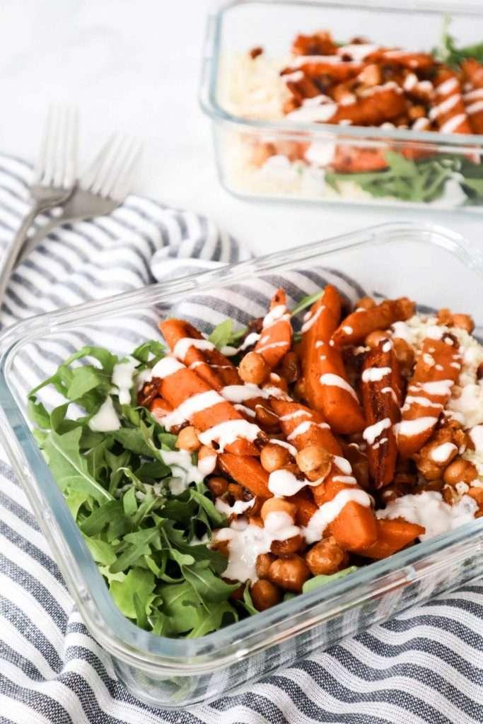 Défi meal prep - Tous les lunchs de la semaine en 1h30